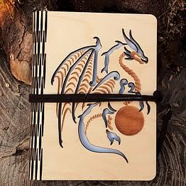 Carnet dragon fermé