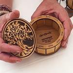 Présentation de la taille de boite arbre de vie