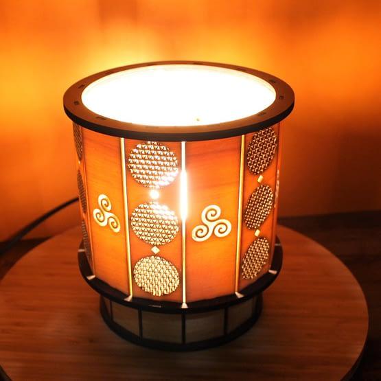 lampe Fleur de vie