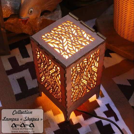 lampe feuille